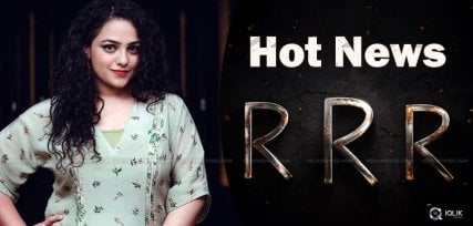 nithya-menen-may-act-in-rrr-movie