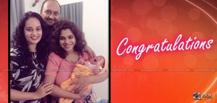 actress-sandhya-blessed-with-baby-girl