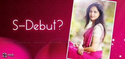 sunitha-acting-debut-in-short-film