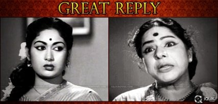 Suryakantham's Great Reply to Mahanati