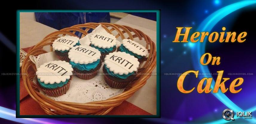 Mahesh Babu s Heroine On Cakes!