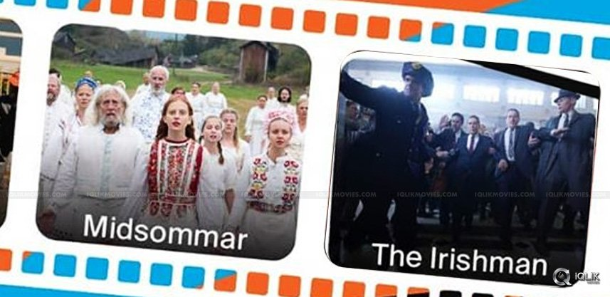 Huge applause for 'The Irishman' and 'Midsommar'