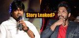 alluarjun-duvvadajagannadham-story-leaked