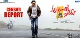 Attarintiki-Daredi-Censor-Report