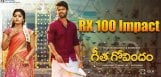 rx100-movie-impact-on-geetha-govindam-movie