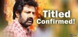 balakrishna-ks-ravikumar-movie-title