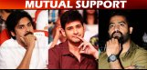 ntr-pawan-mahesh-fans-supports-each-other