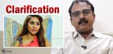 koratala-siva-clarification-on-sri-reddy-castingco