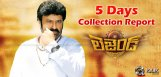 bala-krishna-legend-film-first-5-days-collections