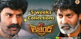 balakrishna-legend-movie-five-weeks-collections