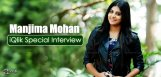 manjimamohan-special-interview-details