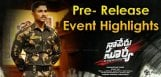 Naa-puru-surya-movie-highlights-of-prerelease-even