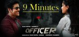 nagarjuna-officer-movie-9minutes-show-to-media