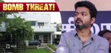 bomb-threat-thalapathy-vijay-house