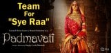 team-padmavathi-for-sye-raa