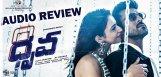 ram-charan-dhruva-audio-review