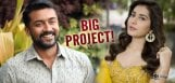 Raashi-Khanna-Beside-Suriya-For-Aruvaa