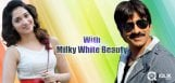 Ravi-Teja-to-romance-Milky-Beauty
