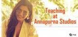 samantha-to-teach-in-annapurna-studio