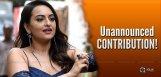 sonakshi-sinha-unannounced-contribution