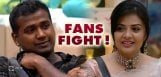 rahul-sreemukhi-fans-fight-social-media