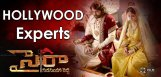 chiranjeevi-sye-raa-shooting-hollywood-experts