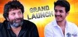 Trivikram-to-launch-Akkineni-Akhil-