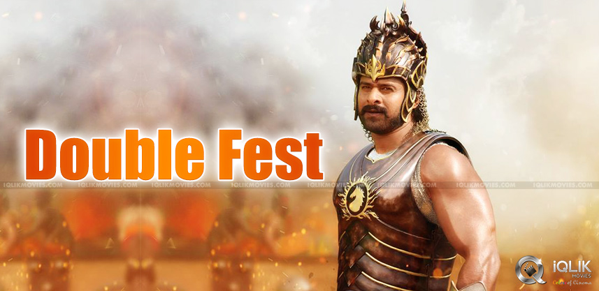 Prabhas-cutout-on-chariot-from-baahubali-movie