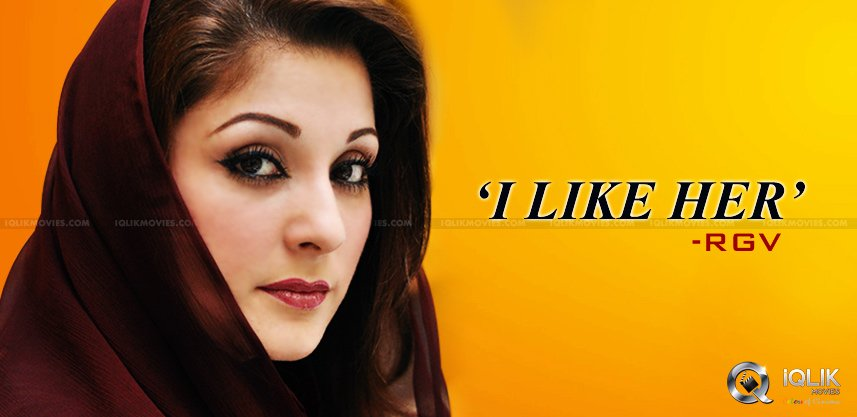 rgv-tweet-about-nawaz-sharif-daughter-maryam