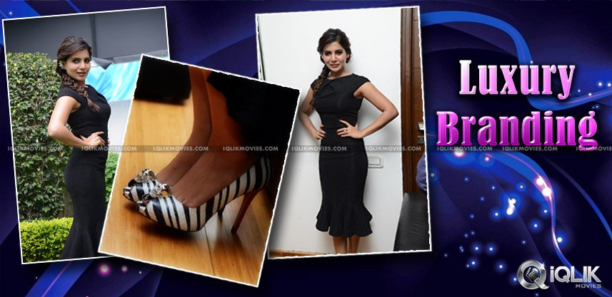 samantha-3-laksh-worth-high-heels-and-dress