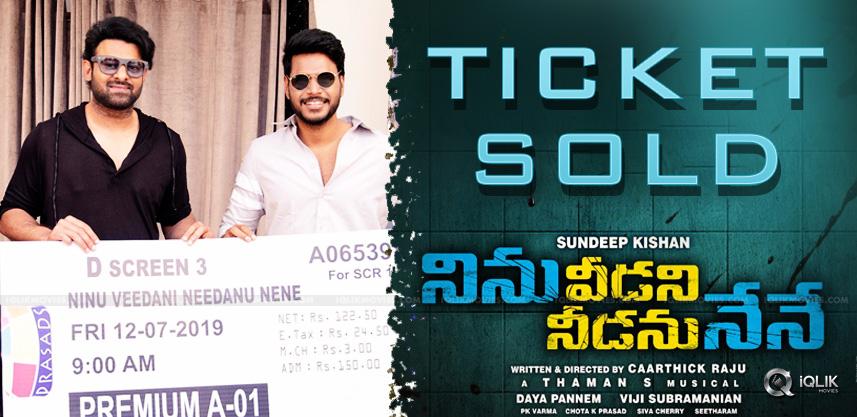 prabhas-bought-sundeep-kishan-ticket