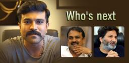 mega-dilemma-with-trivikram-koratala-siva-for-mega-power-star-ram-charan