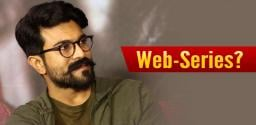Ram Charan As Producer Of Web-Series?