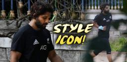Allu Arjun Surprises With New Hair Style!