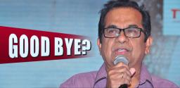 Brahmanandam To Stop Acting In Films?