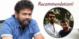 Talk of the Town: Sukumar's Recommendation To Ram Charan