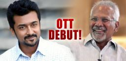 Suriya Signs A Webseries For Mani Ratnam Production