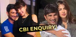 Sushant Singh Rajput's Girlfriend Rhea Chakraborty Asks For CBI Enquiry