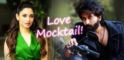 Satyadev & Tamannah In Kannada Film Love Mocktail Remake