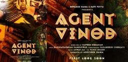 Intriguing Pre-Look Poster Of Agent Vinod From Abhishek Pictures Released