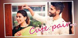 Naga Chaitanya Blesses His Wife