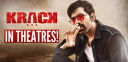 Ravi Teja?s Krack Only In Theaters