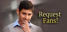 mahesh-babu-special-request-to-his-fans