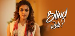 Nayan As A Visually Challenged Person