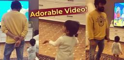 Trending: Ram Charan's dance with niece Navishka