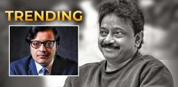 RGV Gets Instant Publicity With 'Arnab'
