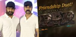 Team RRR To Shoot A Special Song On Friendship!