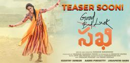 Keerthy's Good Luck Sakhi Teaser On August 15th
