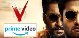 Nani's V To Premiere On Amazon Prime Video Soon