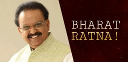 Bharat Ratna For Gana Gandharvudu Balu?